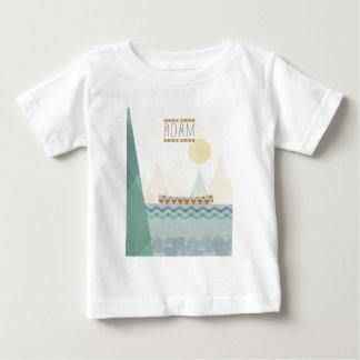Outdoor Geo II   Roam Baby T-Shirt