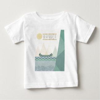 Outdoor Geo III   Wander Baby T-Shirt