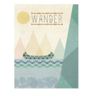 Outdoor Geo III | Wander Postcard