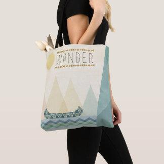 Outdoor Geo III | Wander Tote Bag