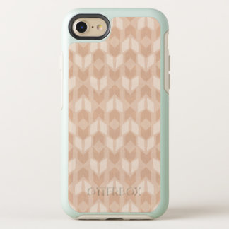 Outdoor Geo Step | Coral Arrow Pattern OtterBox Symmetry iPhone 8/7 Case