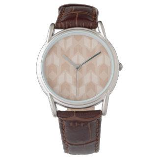 Outdoor Geo Step   Coral Arrow Pattern Watch