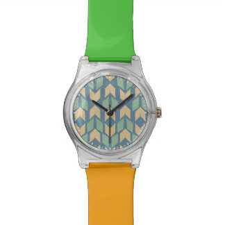 Outdoor Geo Step | Geometric Arrow Pattern Watch
