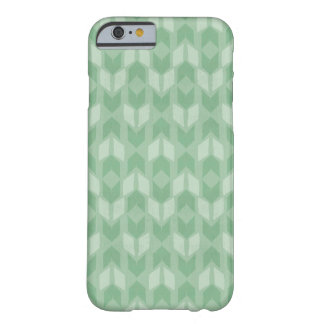 Outdoor Geo Step | Green Arrow Pattern Barely There iPhone 6 Case