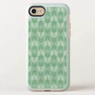 Outdoor Geo Step | Green Arrow Pattern OtterBox Symmetry iPhone 8/7 Case
