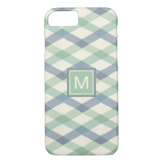 Outdoor Geo Step | Pastel Geometric Pattern iPhone 8/7 Case