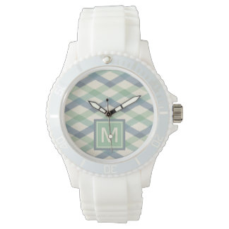 Outdoor Geo Step | Pastel Geometric Pattern Watch