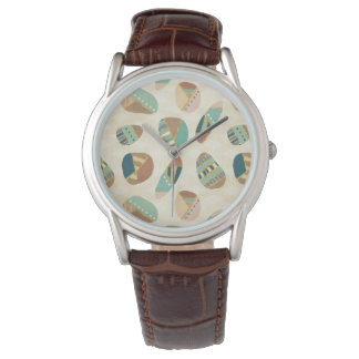 Outdoor Geo Step  | Teal Pattern Watch