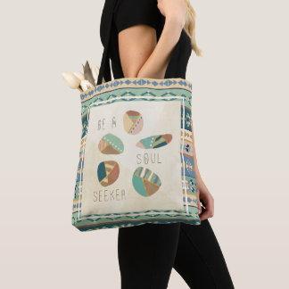 Outdoor Geo VIII | Be A Soul Seeker Tote Bag