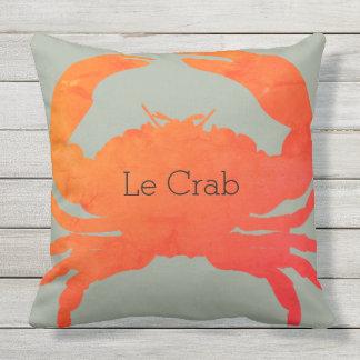 OUTDOOR-Nautical_Crab_Le Crab(c)Paprika & Seaweed Outdoor Cushion