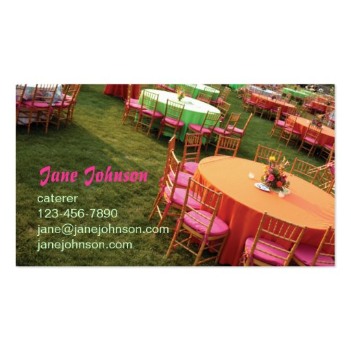 outdoor party tables pack of standard business cards