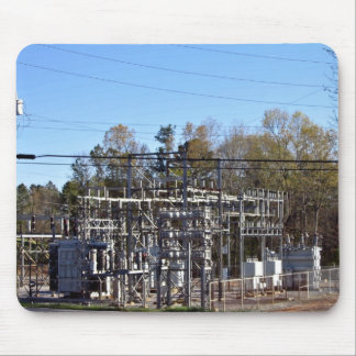 Outdoor power substation mouse pad
