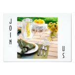 OUTDOOR SETTING INVITAION FOR ALL OCCASIONS 5X7 PAPER INVITATION CARD
