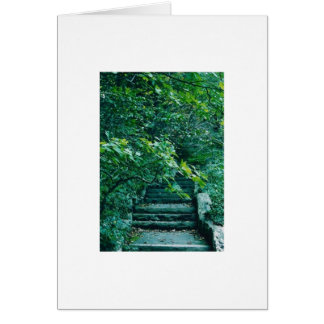 outdoor stairs card