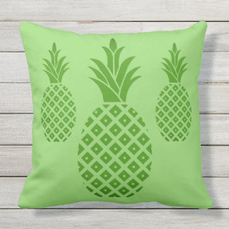 Outdoor Throw Pillow-Pineapples Cushion