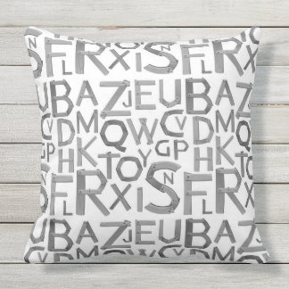 "Outdoor Throw Pillow, Throw Pillow 20"" x 20"""