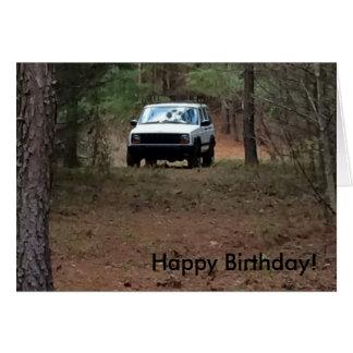 Outdoors Birthday Card