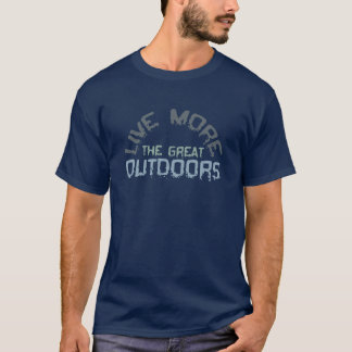 Outdoors blue T-Shirt
