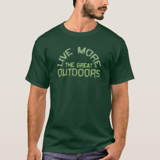 Outdoors green T-Shirt