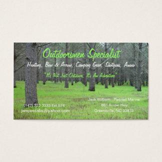 Outdoorsmen Card