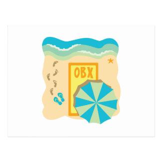 Outer Banks Beach Postcard