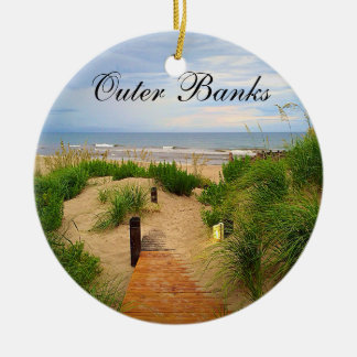 Outer Banks Dunes Christmas Ornament