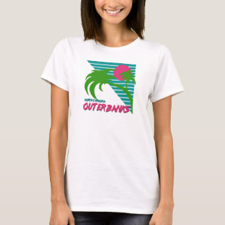 Outer Banks NC Retro OBX Design T-Shirt