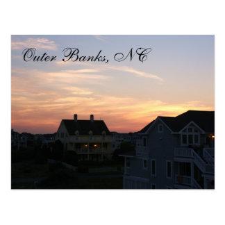 Outer Banks, NC Sunset Postcard