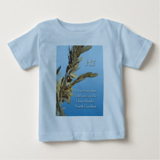 Outer Banks North Carolina Wild Oats Baby T-Shirt