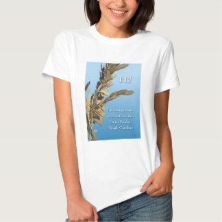 Outer Banks North Carolina Wild Oats Tee Shirt