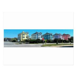 Outer Banks OBX Homes North Carolina Postcard