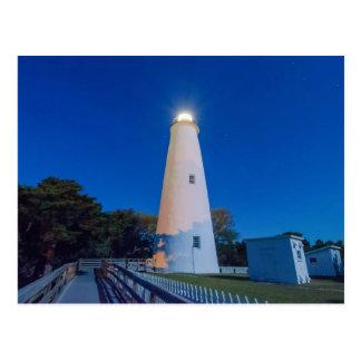 outer banks ocracoke island lighthouse postcard