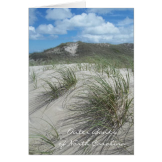 Outer Banks of North Carolina Greeting Card