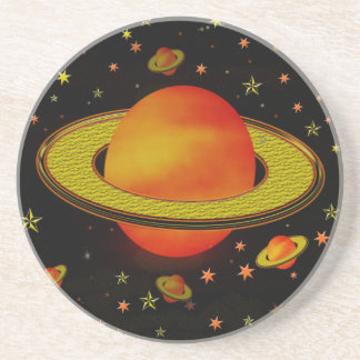 Outer Harvest Moons Beverage Coasters