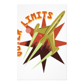 Outer Limits Rocket Stationery