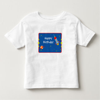 Outer Space 1 Birthday T-Shirt