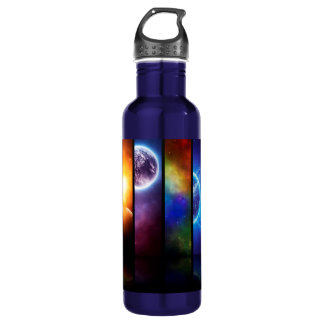 Outer Space 710 Ml Water Bottle