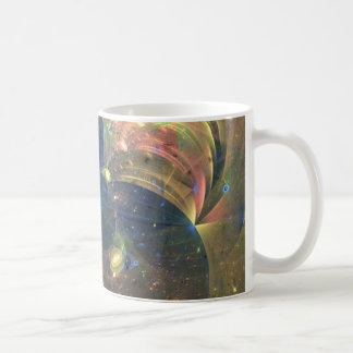 Outer Space Abstract Painting, Mug