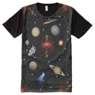 Outer Space All-Over Print T-Shirt