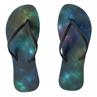 Outer Space Galaxy FlipFlop