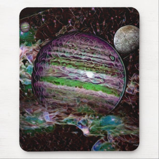 Outer Space Mouse Pad by Artful Oasis