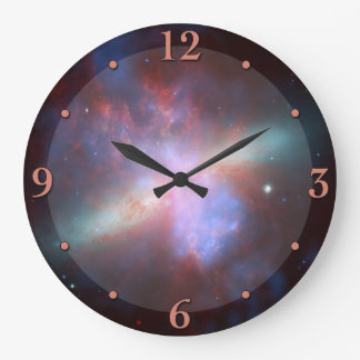 Outer Space Nebula Astronomy Clock