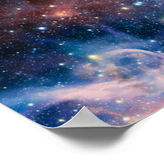 Outer Space Nebula Poster