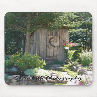 Outhouse in Maine Mousepad