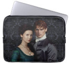 Outlander | Claire And Jamie Damask Portrait Laptop Sleeve