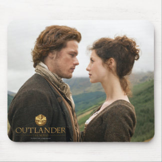 Outlander | Jamie & Claire Face To Face Mouse Pad