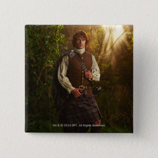 Outlander | Jamie Fraser - In Woods 15 Cm Square Badge