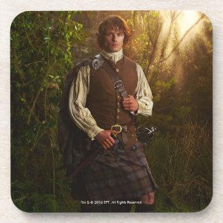Outlander   Jamie Fraser - In Woods Coaster