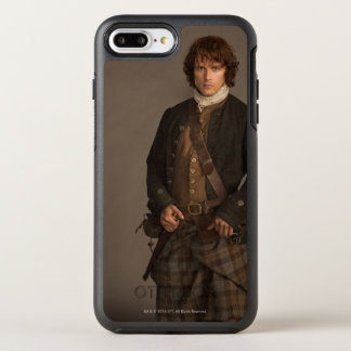 Outlander | Jamie Fraser - Kilt Portrait OtterBox Symmetry iPhone 7 Plus Case