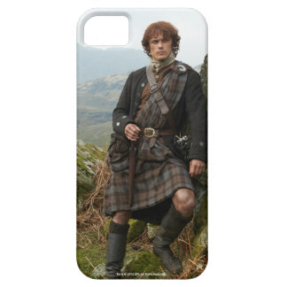 Outlander | Jamie Fraser - Leaning On Rock iPhone 5 Covers